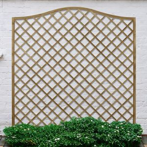Forest 6' x 6' Pressure Treated Europa Hamburg Decorative  Garden Screen Panel (1.8m x 1.8m)