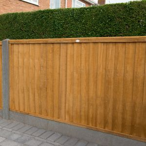 6ft x 4ft (1.83m x 1.22m) Closeboard Fence Panel