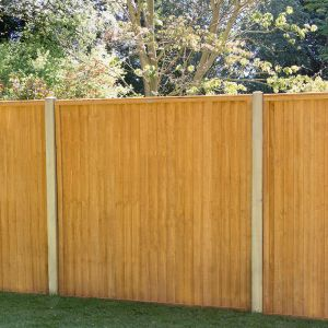 6ft x 5ft (1.83m x 1.52m) Closeboard Fence Panel