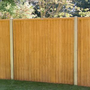 6ft x 6ft (1.83m x 1.83m) Closeboard Fence Panel