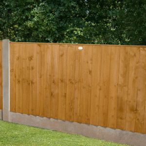 6ft x 4ft (1.83m x 1.23m) Featheredge Fence Panel