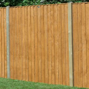 6ft x 5ft (1.83m x 1.54m) Featheredge Fence Panel