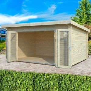 16x12 Palmako Lea 44mm Log Cabin