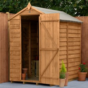 6' x 4' Forest Apex Wooden Shed