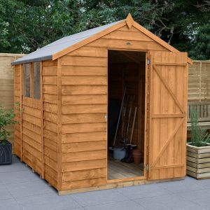 8' x 6' Forest Overlap Dip Treated Apex Wooden Shed