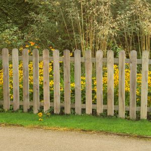 6ft x 3ft (1.8m x 0.9m) Pressure Treated Heavy Duty Pale Fence Panel