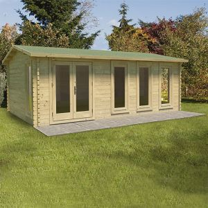 Forest Blakedown 6m x 4m Log Cabin (45mm)