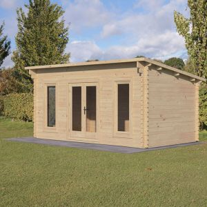 Forest Elmley 5m x 3m Log Cabin (45mm)