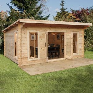 Forest Mendip 5m x 4m Log Cabin (45mm)