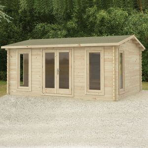 Forest Rushock 5m x 4m Log Cabin (45mm)