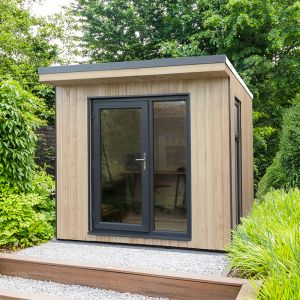 Forest Xtend 2.5 Insulated Garden Office 2.54m x 2.9m (97mm) 8'4 x 9'6