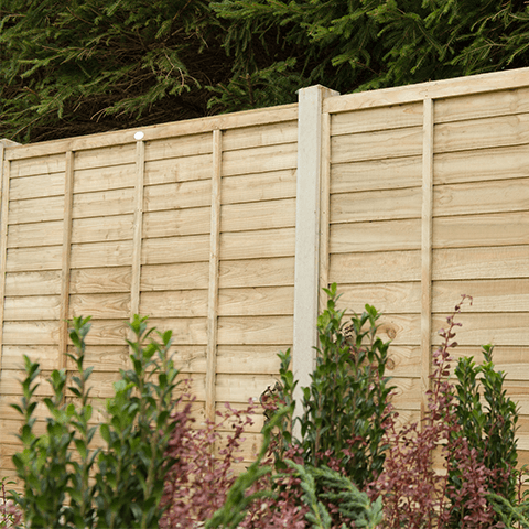 Overlap Fence Panels